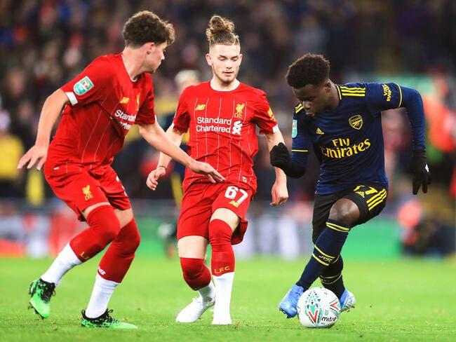 Ang : Liverpool élimine Arsenal après un match fou