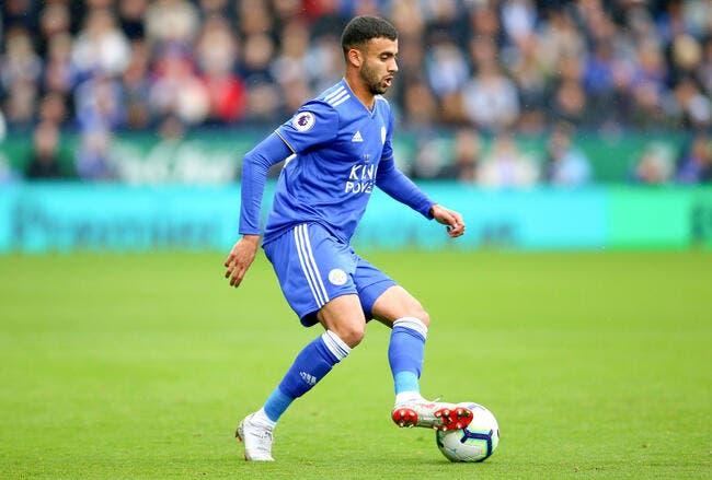 Ita : Rachid Ghezzal prêté par Leicester à la Fiorentina
