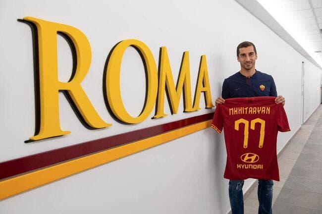 Officiel : Mkhitaryan prêté par Arsenal à la Roma