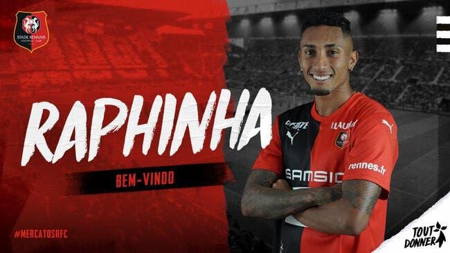 Officiel : Rennes fait signer Jonas Martin et Raphinha !