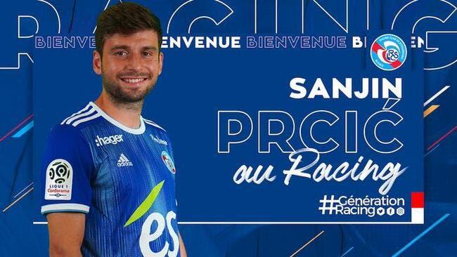 Officiel : Sanjin Prcic remplace Martin à Strasbourg