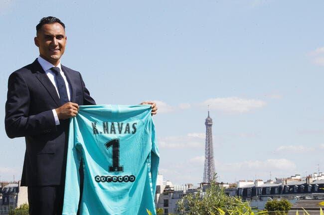 PSG : Keylor Navas signe à Paris jusqu'en 2023 !
