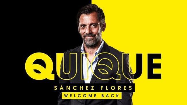 Watford remplace Javi Gracia par Quique Sanchez Flores