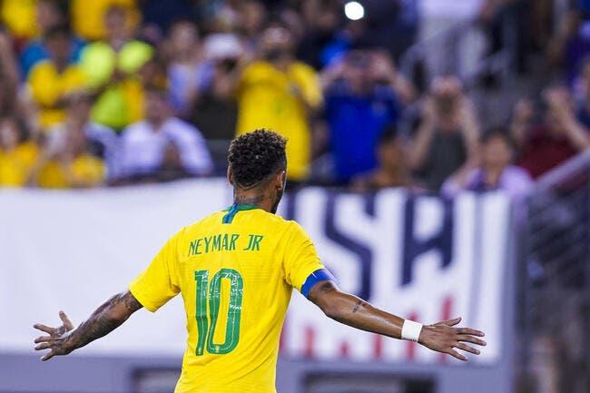 Brésil : Neymar frappe fort pour son retour !