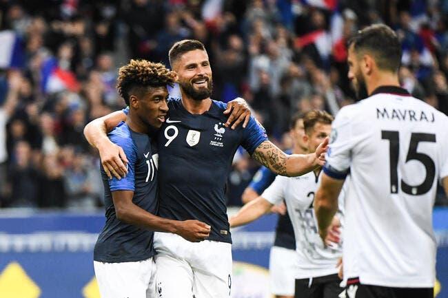 EdF : Giroud se fixe un double objectif de gala en Bleus