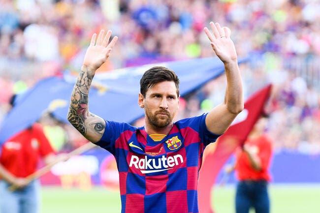 Esp : Un contrat à vie pour Messi, l'arme fatale du Barça ?