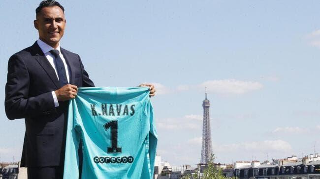 PSG : Navas à Paris, à Madrid il en pleure encore