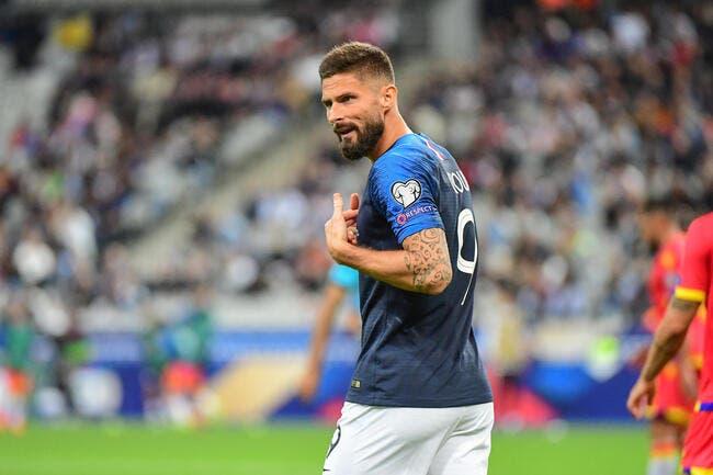 EdF : Giroud boulet des Bleus, Gilles Favard frappe fort