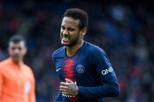 PSG : Neymar attend la bronca du Parc de pied ferme