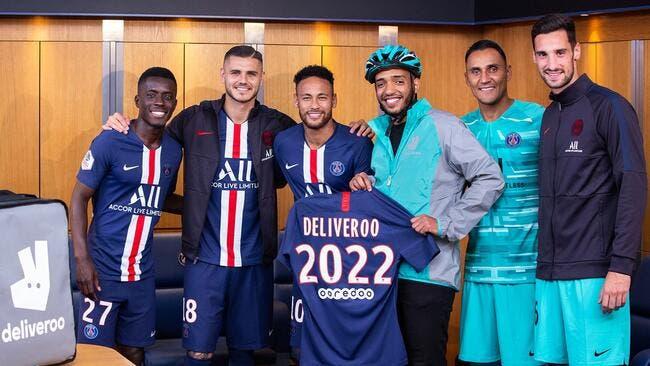 Club : Deliveroo devient partenaire du PSG