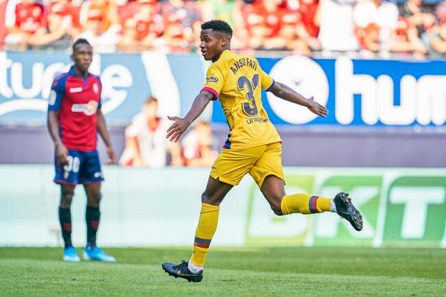 Liga : 5-2, le Barça cartonne, Fati impressionne