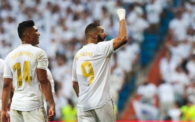 Liga: Benzema décisif, le Real Madrid se fait peur