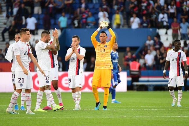 PSG : Navas, c'est un mur, les joueurs sont choqués