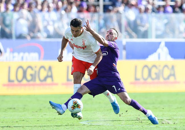 Serie A : Ribéry a mis la misère à Cristiano Ronaldo, il abuse un peu