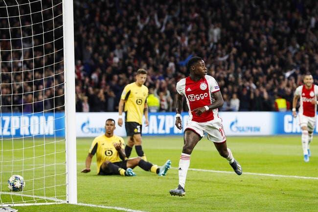 LdC: Lille se fait lessiver par l'Ajax