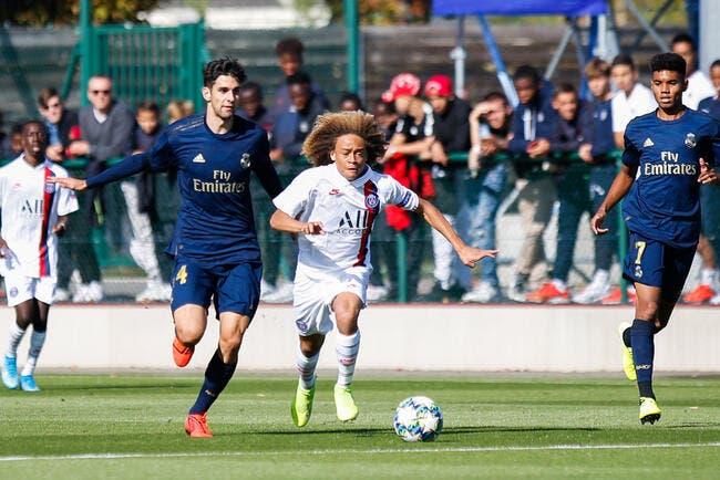 Youth League : Le PSG dominé par Madrid