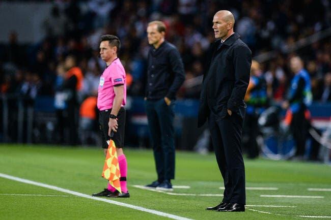 PSG-Real: Zidane est un zéro, l'Espagne le descend déjà