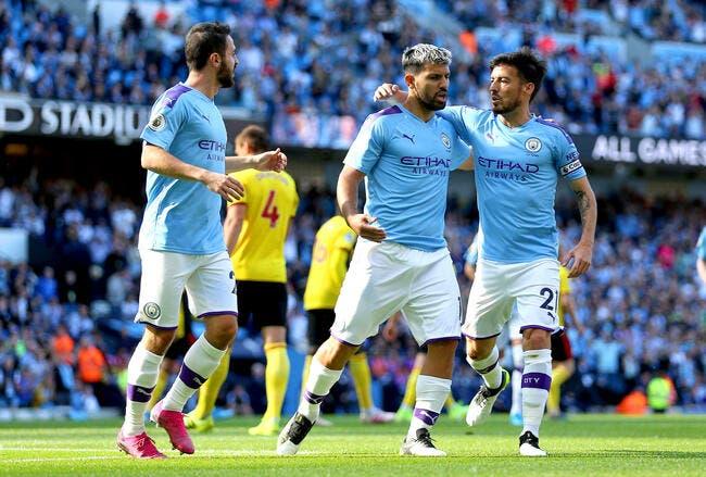 Ang : 8-0, Man City éclate mais pas trop Watford