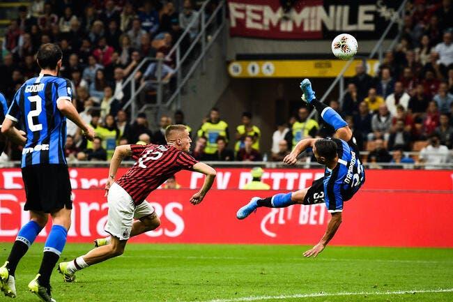 Ita : Le derby milanais pour l'Inter !
