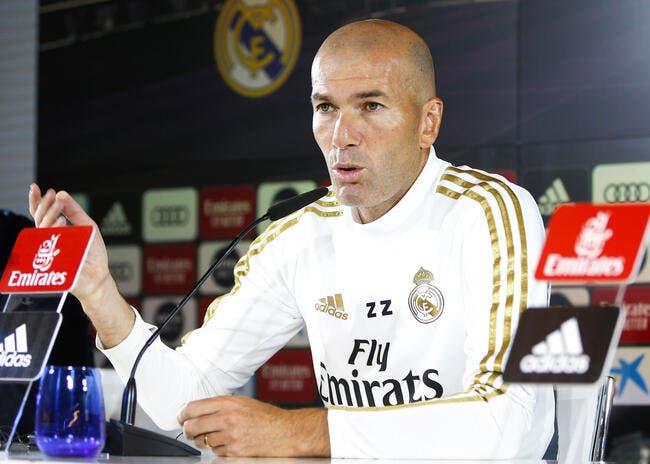 Esp : 80ME pour virer Zidane, le Real Madrid cauchemarde