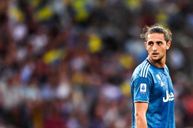 Ita : Rabiot comparé à Matuidi, la Juventus sera sans pitié
