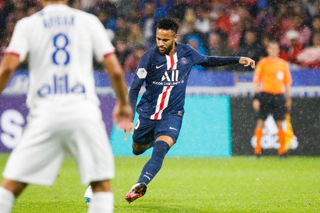 Neymar remet ça, il met l'OL au tapis