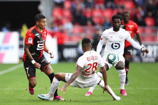 L1 : Rennes accroche Lille dans le match pour le podium !