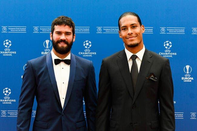 FIFA : Liverpool rafle tout, Alisson élu meilleur gardien