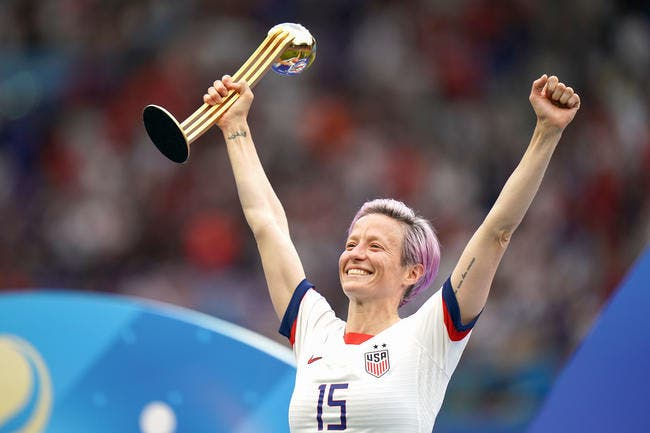 FIFA : Megan Rapinoe reçoit le trophée The Best 2019