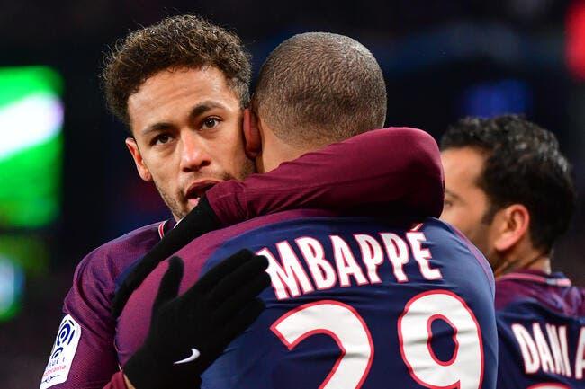 PSG : Neymar fait zéro effort pour Paris, la preuve !