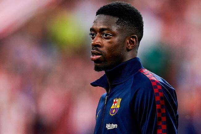 Barça: Ousmane Dembélé, le joueur de cristal craque pour la 8e fois