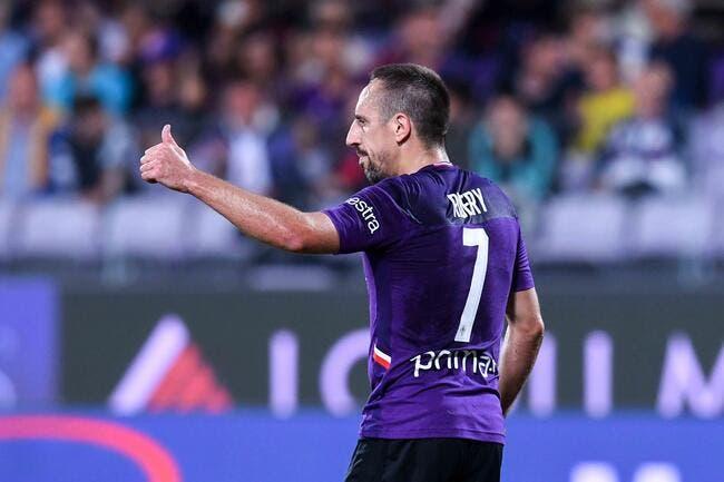 Serie A: San Siro se lève pour le vieux Ribéry