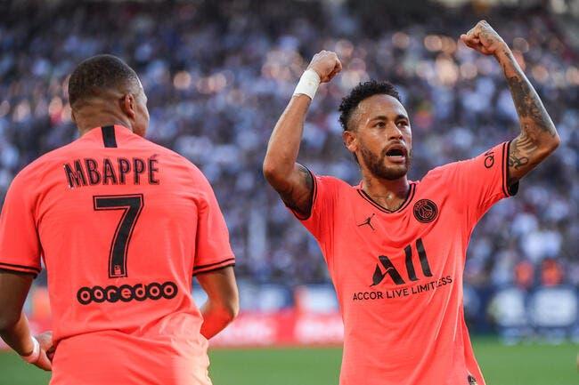 PSG : Neymar et Mbappé, il n'y a pas plus fort en Europe