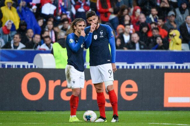 Griezmann a pris la défense de Giroud — EdF