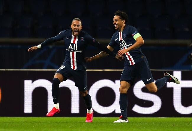 PSG: Marquinhos a tenté de le calmer, Neymar était déchaîné
