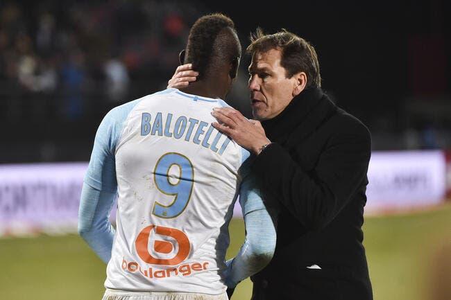 OL : Mario Balotelli fan de Rudi Garcia, ça sent la rumeur