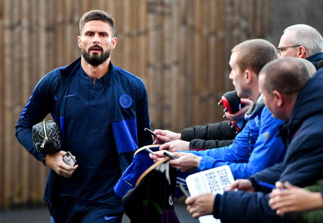 Mercato: Goodbye Chelsea, Giroud connaît sa prochaine destination