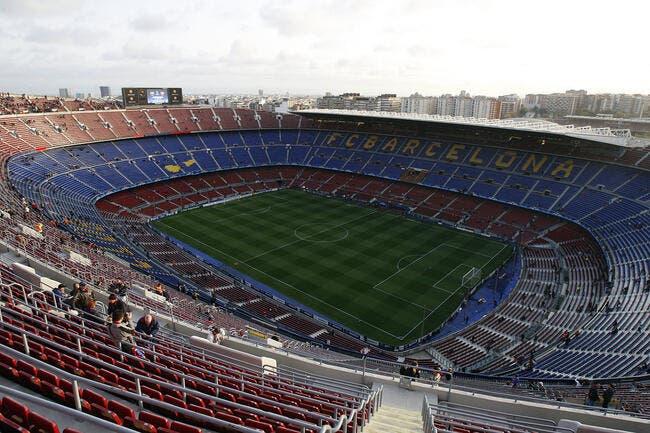Esp : Le Camp Nou va disparaître pour la bonne cause