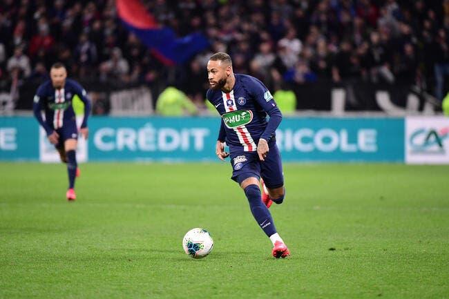 PSG - Pauvre petit, Neymar est