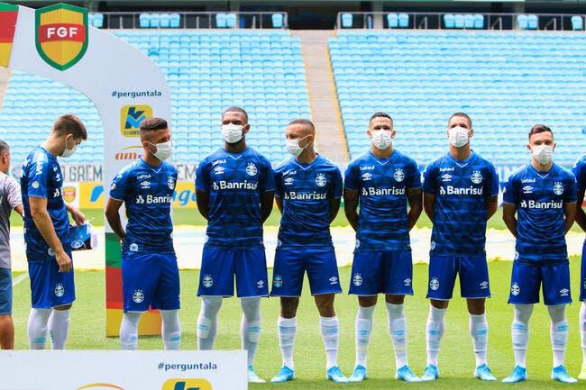 Covid-19 : Tous les footballeurs masqués pour la reprise ?