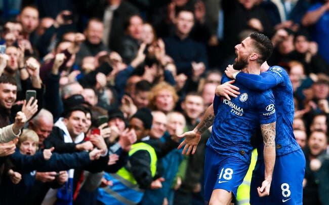 Mercato : Chelsea surprend tout le monde et prolonge Giroud