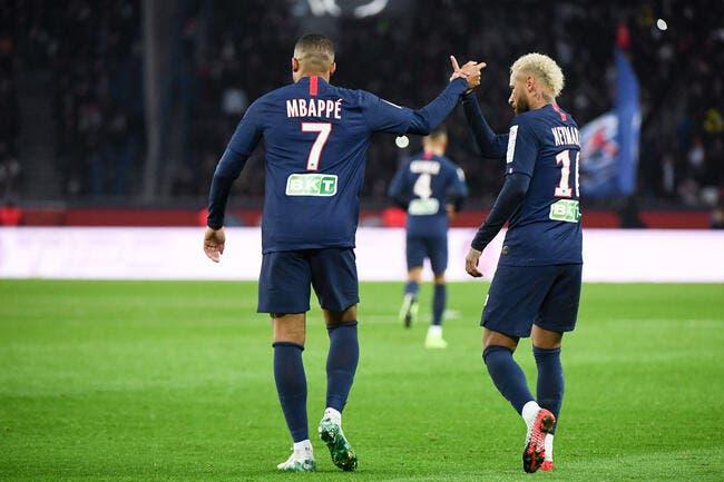 PSG: Neymar surclasse Mbappé, Kylian va adorer