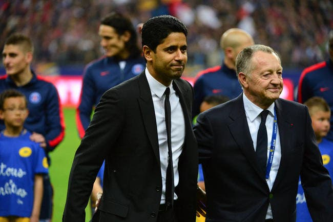 OL : Aulas d'accord avec Al-Khelaifi, on joue la Ligue des champions