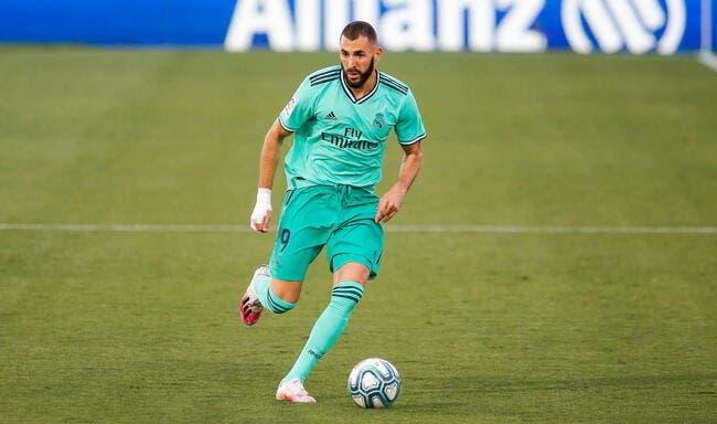 Esp : Benzema remplaçant de Zidane à Madrid, il en rêve !