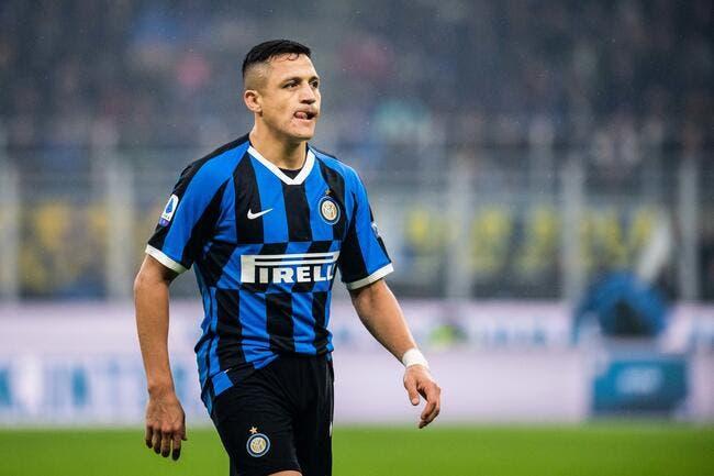 Alexis Sanchez en route pour trois saisons à l'Inter