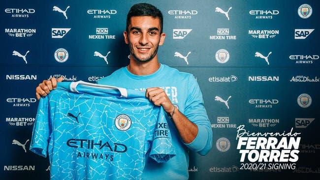 Les derniers transferts: Ferran Torres rejoint Manchester City
