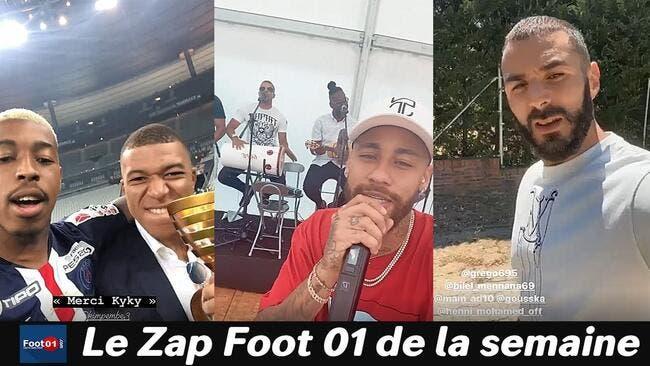 WTF :  Grosse fiesta au PSG, Benzema régale encore, Neymar prend le micro