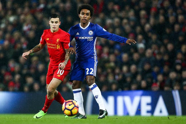 Mercato : Le pari fou d'Arsenal, non à Coutinho, oui à Willian