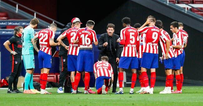 LdC : L'Atlético Madrid annonce deux cas de Covid dans son effectif !