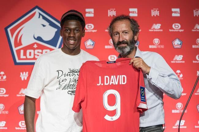 Officiel : Jonathan David signe à Lille jusqu'en 2025